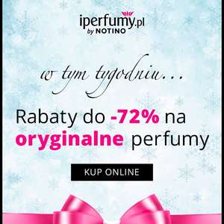 Promocja do -72% na iperfumy.pl