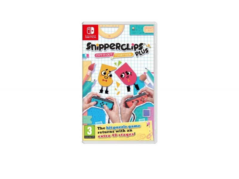 Snipperclips Plus: Cut It Together  w pudełku [Nintendo Switch] @ X-Kom