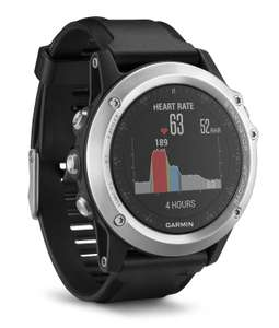 Garmin Fenix 3 HR (szkło mineralne, pulsometr) @ Amazon.it