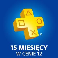 15 miesięcy Playstation Plus w cenie 12 (możliwe 226zł)@ PSStore