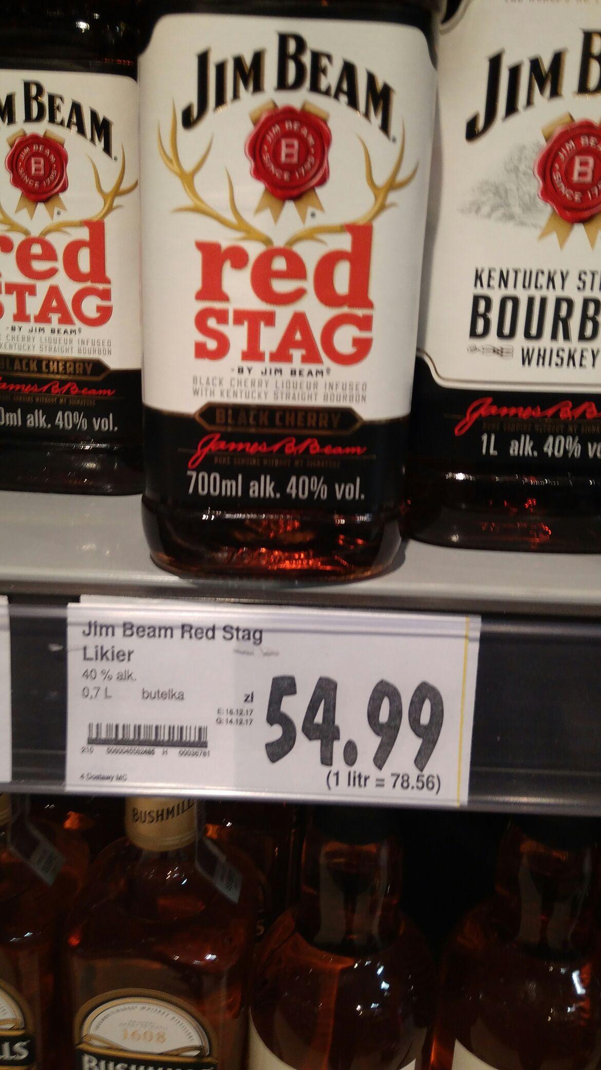 Jim Beam Red Stag 40% 0,7L  KAUFLAND