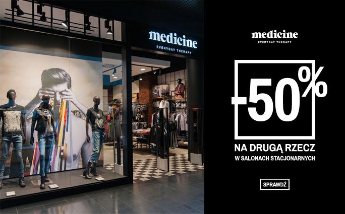 Druga rzecz za -50% (sklepy stacjonarne) @ Medicine