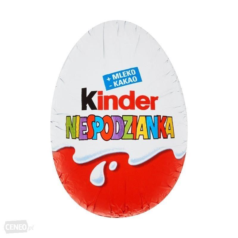 Kinder czekolada lub Kinder niespodzianka W-wa wileński