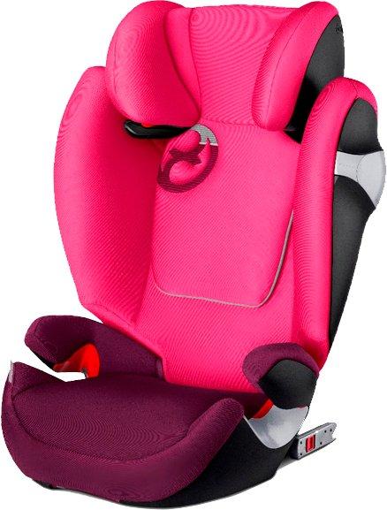 Cybex, Solution M-Fix, Fotelik samochodowy - Mystic Pink