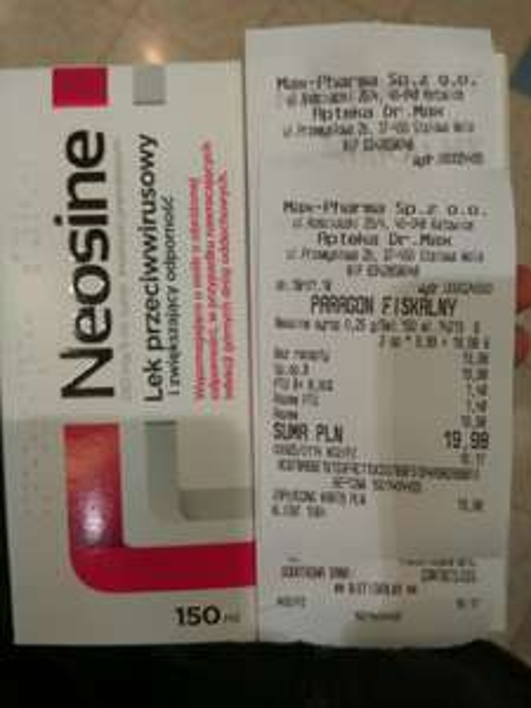 Syrop Neosine