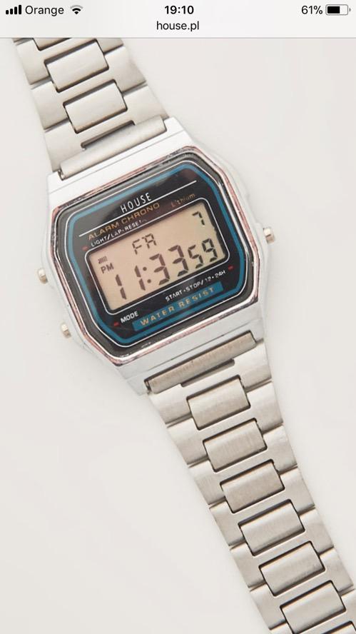 Zegarek elektroniczny House