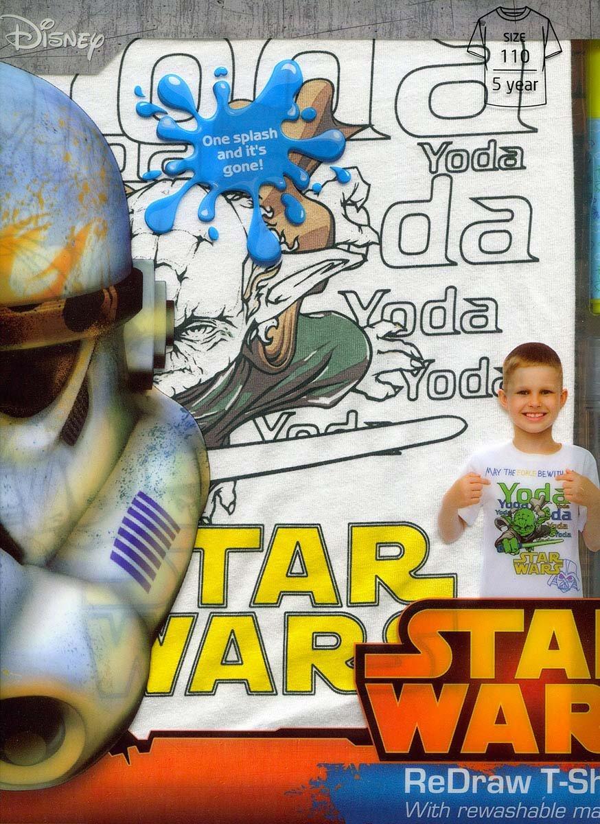 @Empik Koszulka do kolorowania STAR WARS 110cm