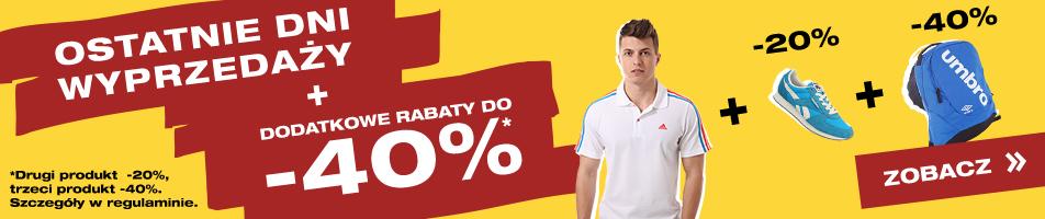 dodatkowe rabaty -20% na drugi oraz -40% na trzeci zakupiony produkt! @ 50style