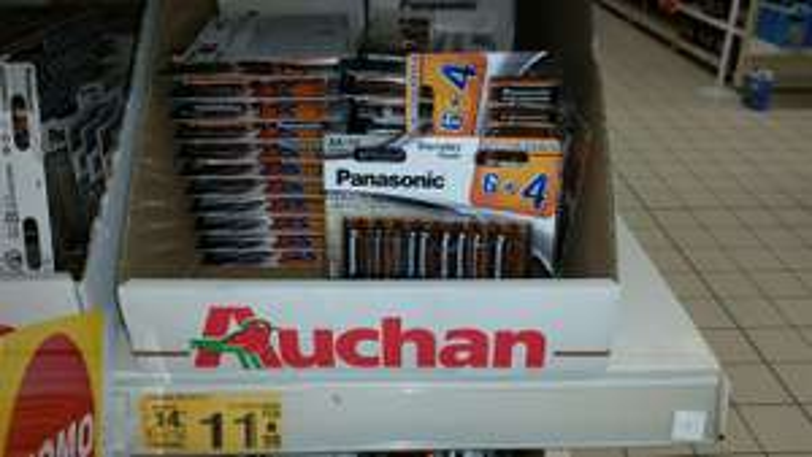 Baterie Panasonic AA 10 szt. w Auchan