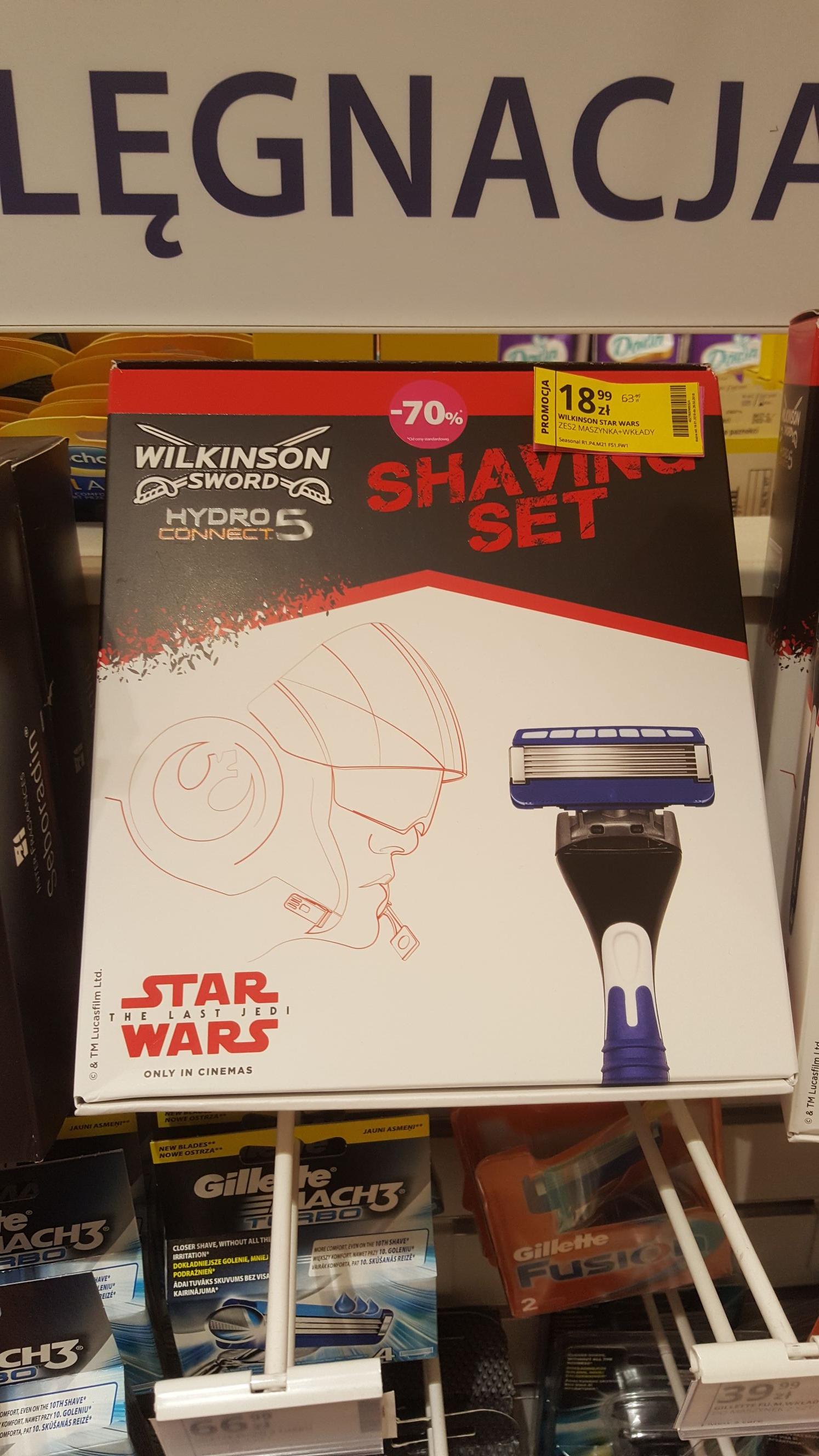 Wilkinson Star Wars Maszynka + Wkłady