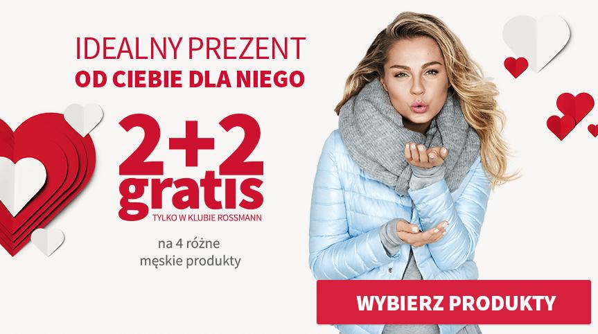 2+2 Rossmann na produkty do męskiej pielęgnacji od 09.02