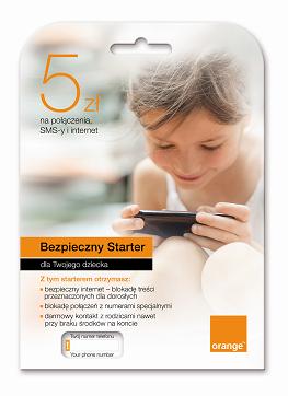 Bezpieczny starter Orange z doładowaniem 5zł ZA DARMO @ Orange