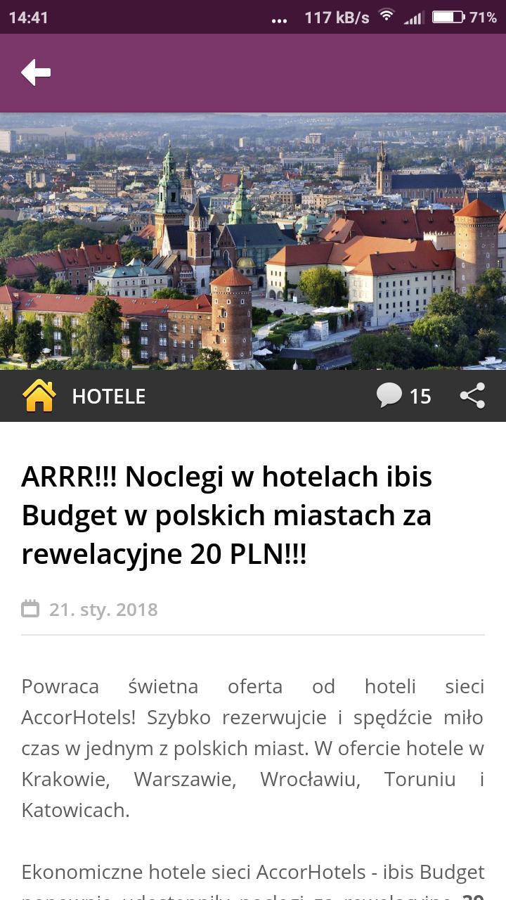 Nocleg w hotelach ibis Budgetjuż od 39zł