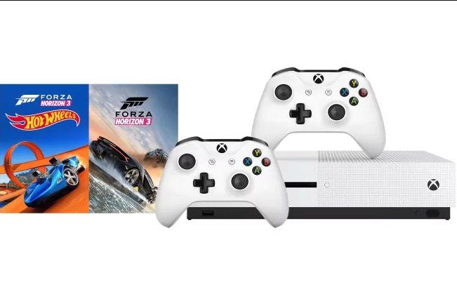 259CHF Xbox One S 500GB Forza Horizon 3 + Hot Wheels + dodatkowy pad w MS Szwajcaria