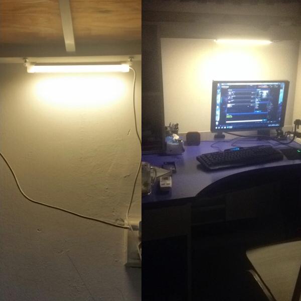 25cm / 5W listwa LED pod micro USB za ok. 17zł @ Banggood