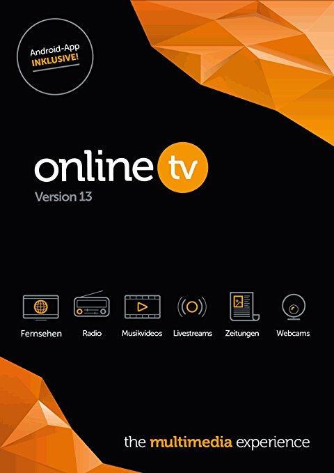 Windowsowa aplikacja do oglądania tv live: OnlineTV 13 Plus Free License za darmo na rok