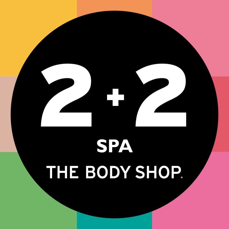[Od 29 stycznia] 2+2 gratis na produkty spa @ The Body Shop