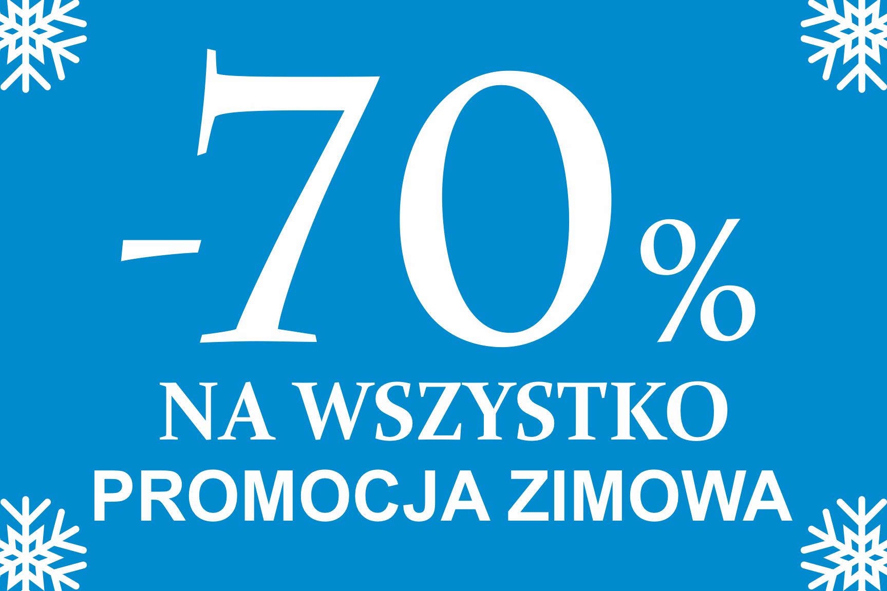 Próchnik -70% Promocja Zimowa