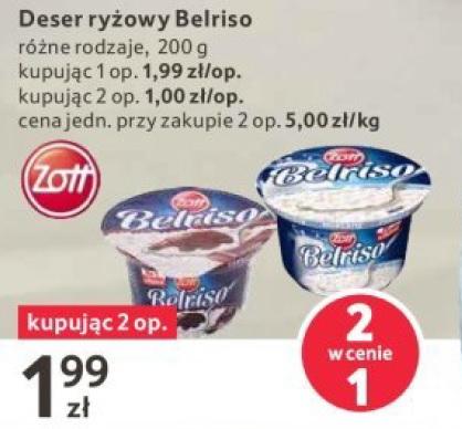 Belriso Deser mleczny różne rodzaje 2 w cenie 1 @Tesco