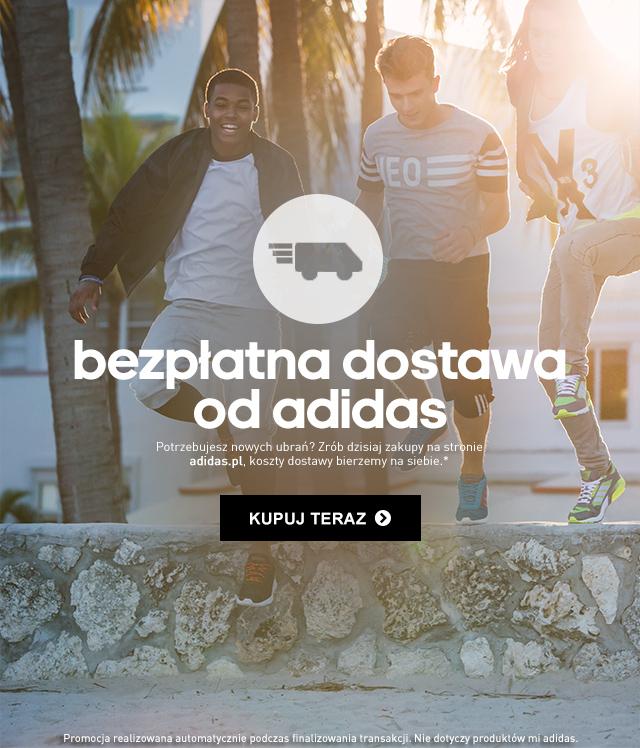 Bezpłatna dostawa w sklepie adidas.pl
