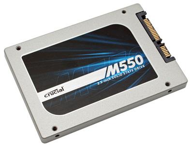 Dysk SSD Crucial M550 256GB (550 MB/s) za 389zł @ Allegro (Satysfakcja.pl)