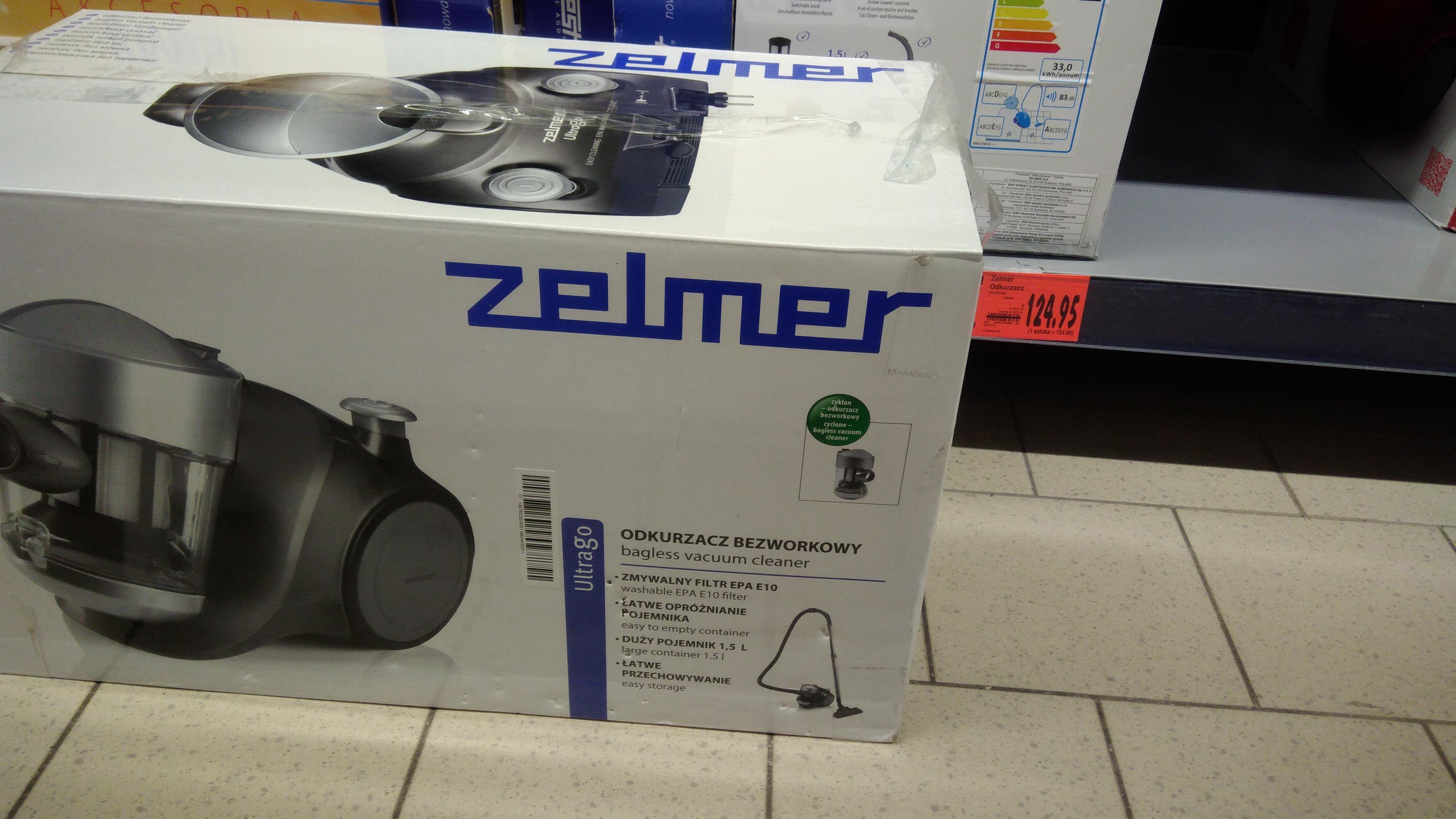 Kaufland Odkurzacz bezworkowy Zelmer UltraGo ZVC231SK