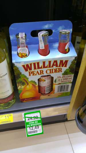 Cydr William Pear 6x330ml @Rossmann