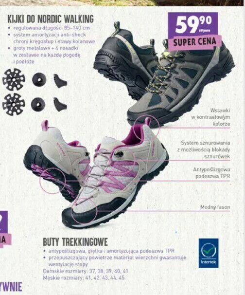 Buty trekkingowe wyprzedaż @Biedronka
