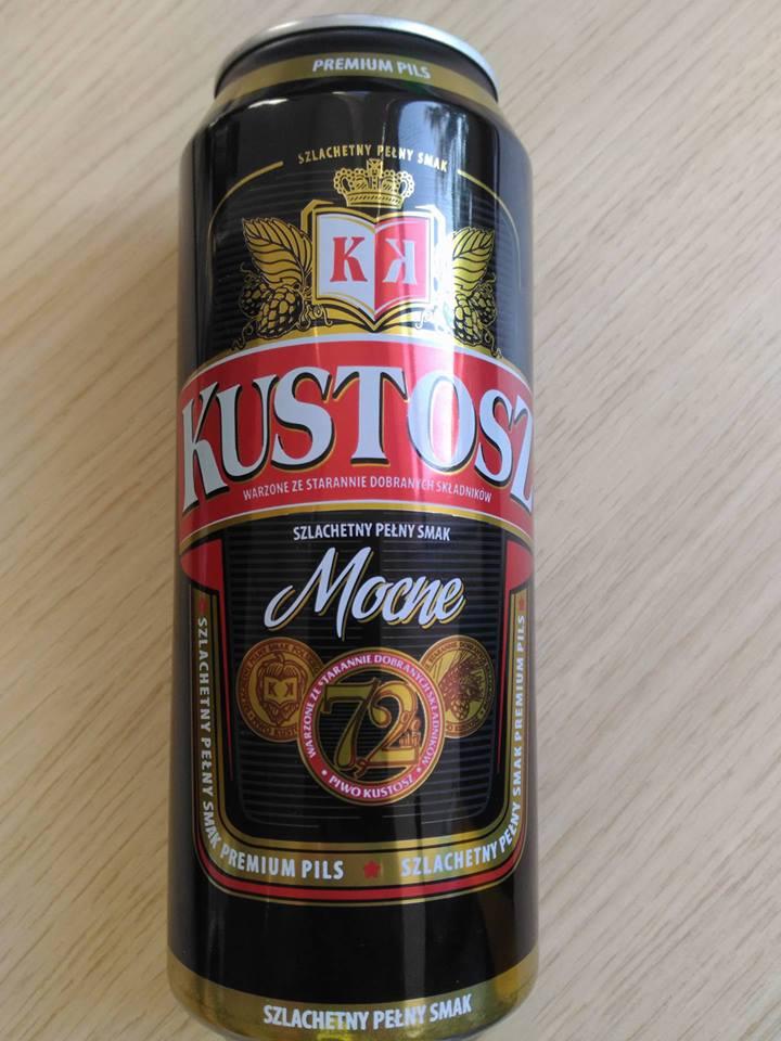 Piwo Kustosz Mocne  - odpowiedź na drogi Wrężel.