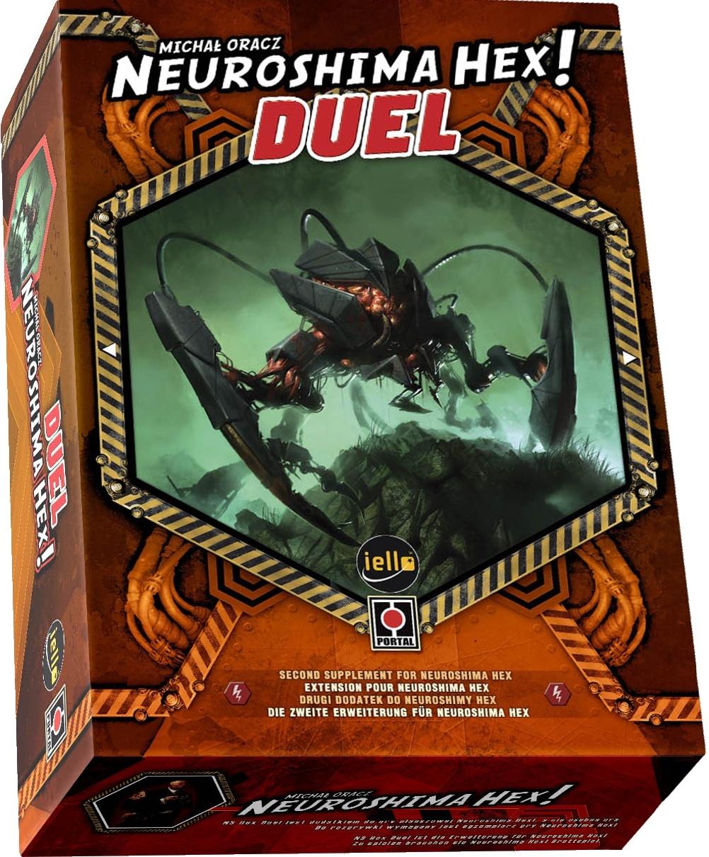 Gra planszowa Neuroshima HEX: Duel (edycja 2.5, samodzielny dodatek) @ Rebel.pl