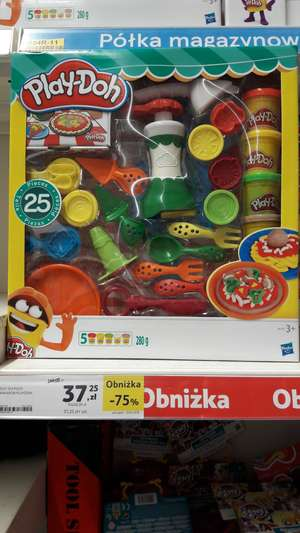 Play-Doh Zestaw do pizzy TESCO 75% taniej