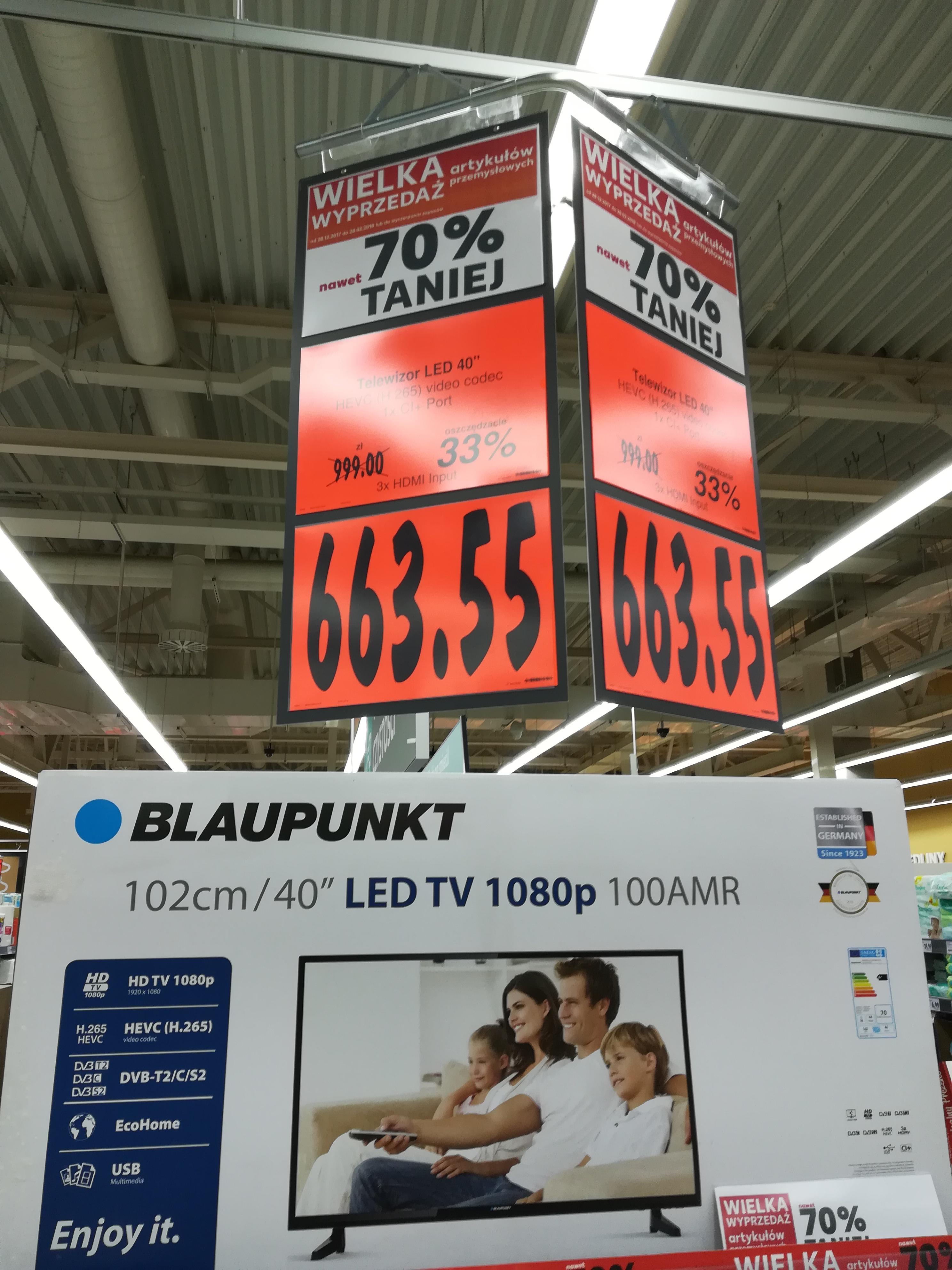 Telewizor TV LED 40 Kaufland