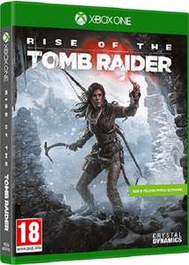 Rise of the tomb Raider  / xbox one