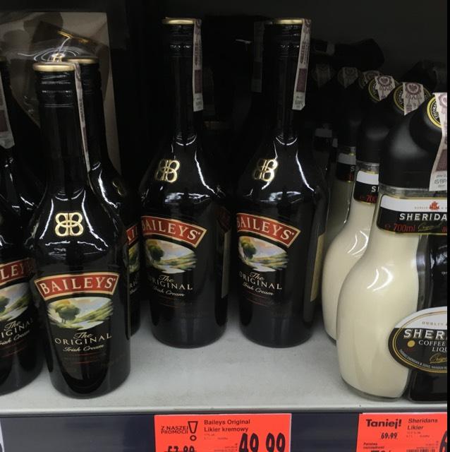 Kaufland - Bailey's 0,7 za 49,99 PLN