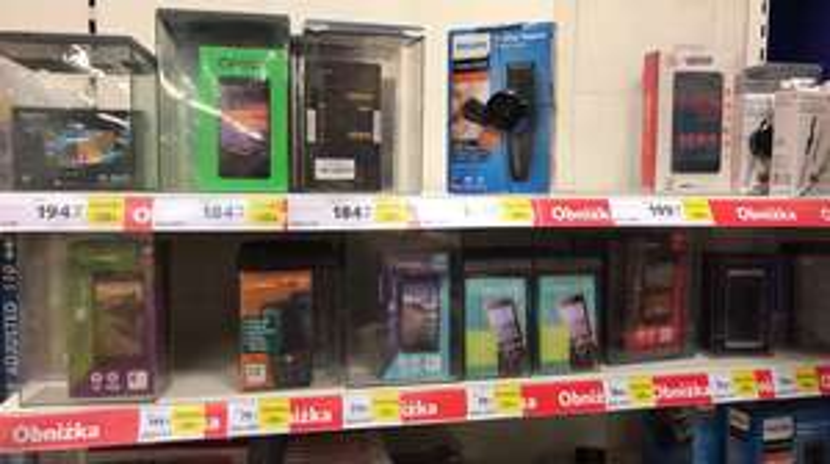 Tesco smartfony -50%