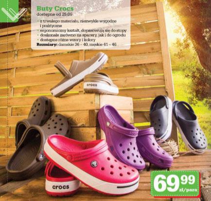 Oryginalne obuwie CROCS za 69,99zł @ Biedronka
