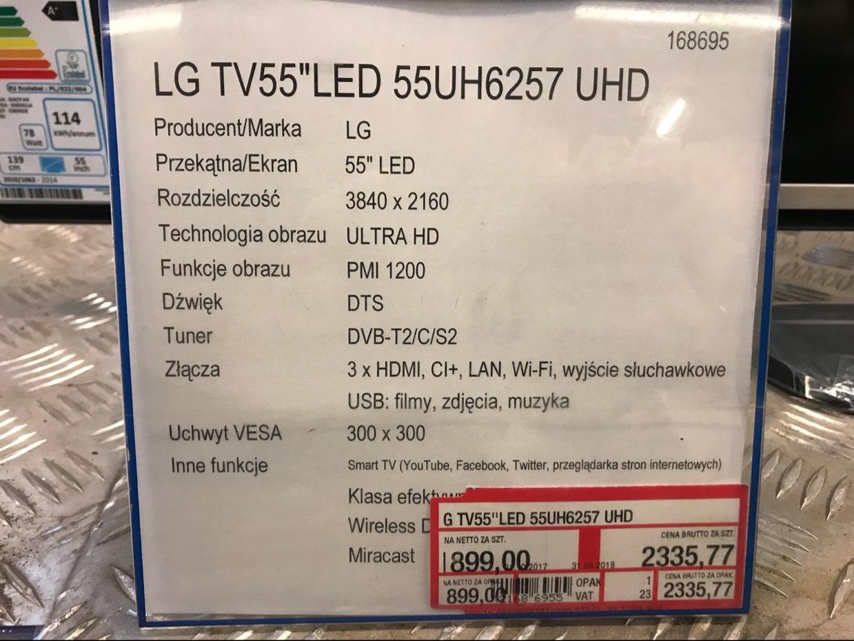 Makro LG TV 55'' LED 55UH6257 UHD