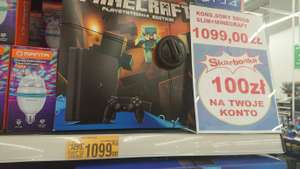 PlayStation 4 slim plus Minecraft