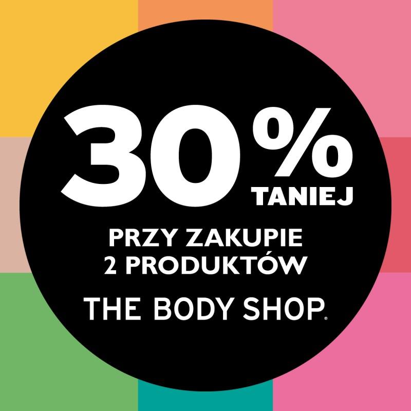 30% rabatu przy zakupie dwóch produktów @ The Body Shop