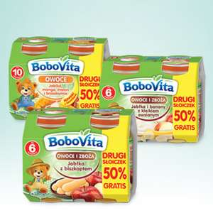 Gratisowe deserki Bobowita i 50% rabatu @ Biedronka
