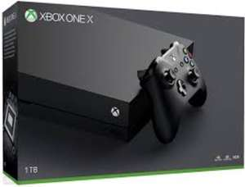 Microsoft Xbox One X 1TB + 2GRY + Live GOLD 6MSC