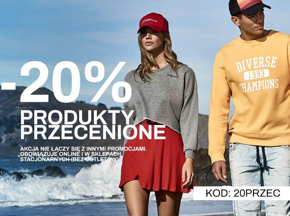 -20% rabatu na produkty przecenione @Diverse