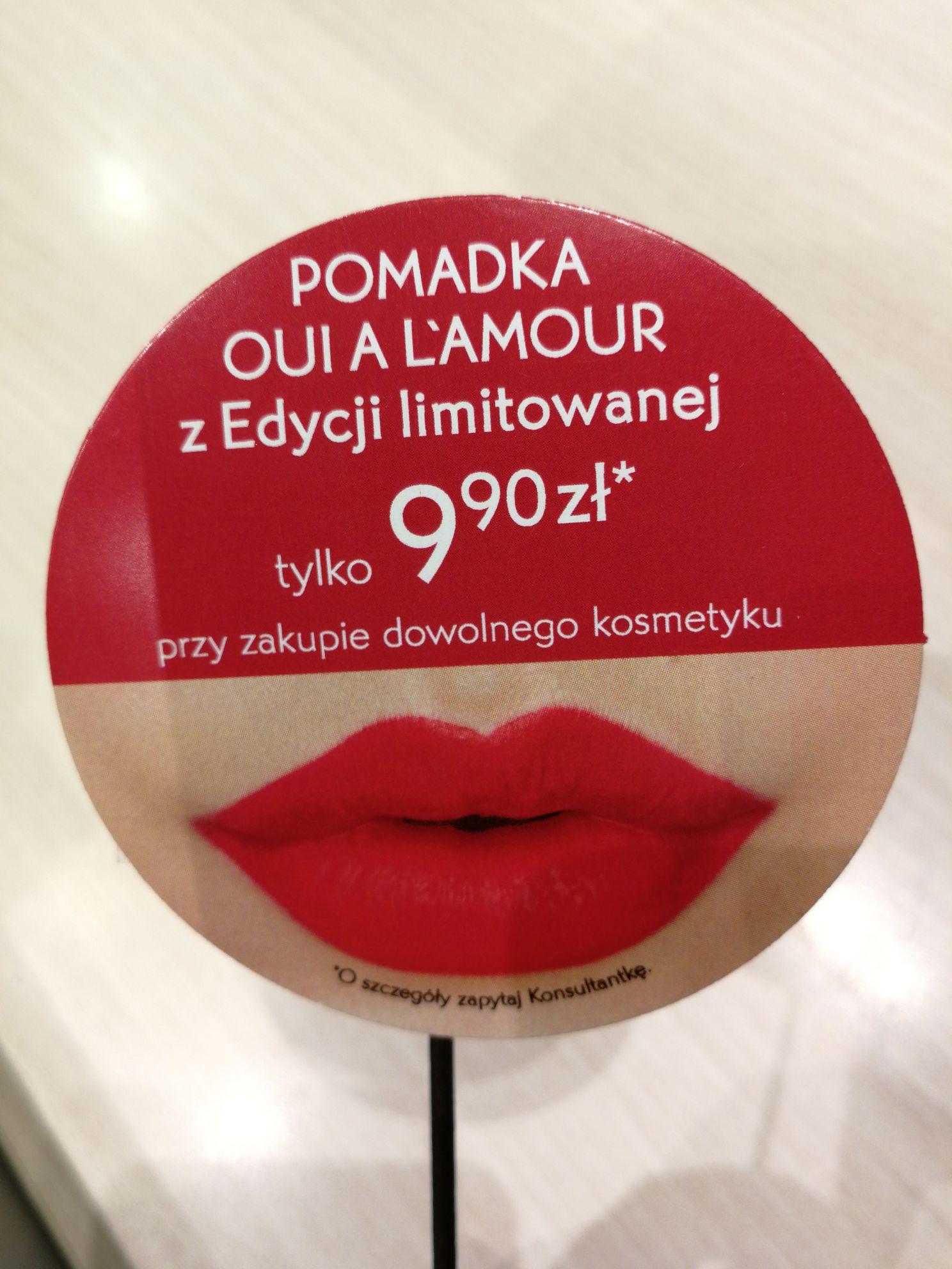 Pomadka za 9,90 przy zakupie dowolnego kosmetyku w Yves Rocher