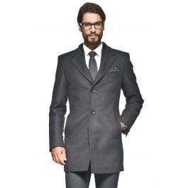 Męski, wełniany płaszcz za 299,99zł (pełna rozmiarówka) @ Recman