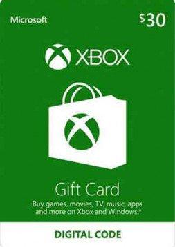 Doładowanie amerykańskiego konta Microsoft o wartości 30$ za 84,16zł @ GamesDeal