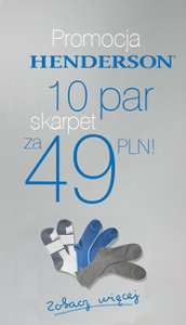 10 par skarpet męskich w cenie 49zł @ Esotiq