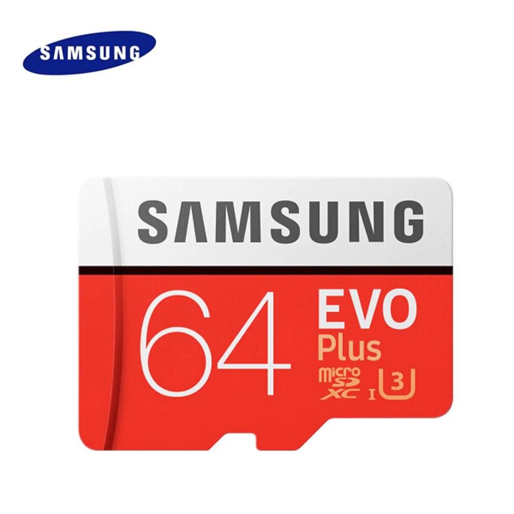 Samsung Evo plus UHS-I U3 64GB