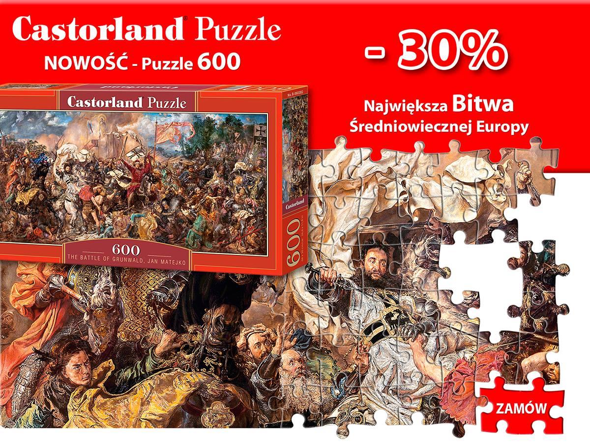 Bitwa pod Grunwaldem - Puzzle Castorland -30%