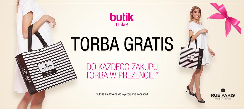 Torba gratis do zakupów @ Butik