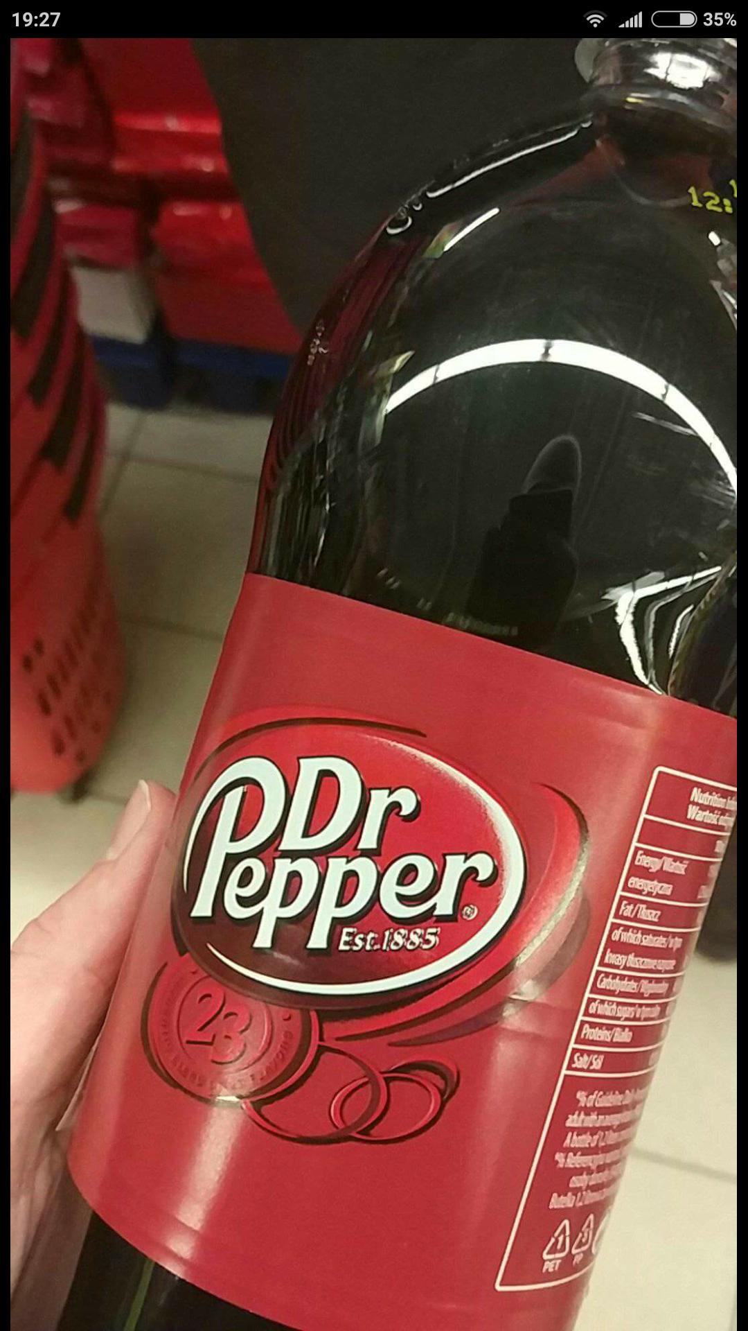 Dr Pepper 1,2l cola/napój owocowy